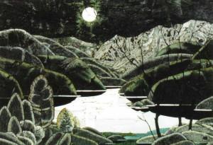 Суслов А.В. Лунный свет. 2000. Натуральный камень, флорентийская мозаика, 65 x 96. Источник: http://museumsrussian.blogspot.com/