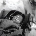 """На съемках фильма """"Мститель"""", фактория Сым-Ленинград, май-сентябрь 1930 г. Фотографии из архива Р.М.Мильман-Криммер, Центральный государственный архив литературы и искусства Санкт-Петербурга, фонд 168 опись 1 дело 12"""