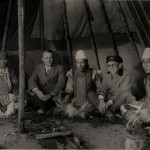 Чум в саду ленинградской фабрики «Союзкино» (ЦГАЛИ СПб. Ф. 168 Оп. 1 Д. 12 Л. 119)