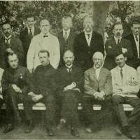 Группа членов Временного Сибирского правительства, лето 1918 года.