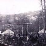 Тунгусское кладбище на реке Кочечум