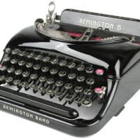 Remington No.5 Streamline Portable (c.1935)