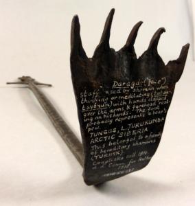 Металлический жезл эвенкийского шамана из коллекции М.Чаплицкой, PRM 1915.50.137