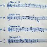 Ноты эвенкийских мелодий
