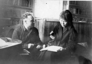 А.М.Айзенштадт в Эвенкии