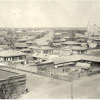 Семипалатинск. Панорама города. 1919 год.