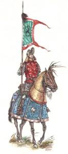 Рис.2. Кыргызский латник XVII в.
