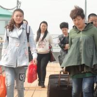 Китайские туристы на Дальнем Востоке
