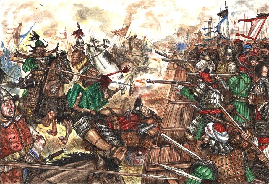 Рис. 2. Ологойская битва (21 июля 1690 г.)
