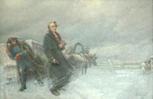 Приезд А.Н. Радищева в Тобольск