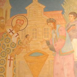 Крещение коренных народов Сибири (икона Сергея Вершинина)