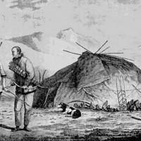 Рис. 2. Чукчи. Гравюра из книги «Troisième Voyage de Cook». Конец XVIII в.
