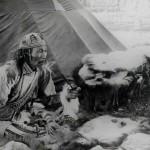 Тунгусский князь Чунго. (ЦГАЛИ СПб. Ф. 168 Оп. 1 Д. 12 Л. 12)