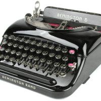 Remington No.5 Streamline Portable (c.1935)