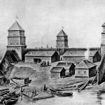 Формирование военного гарнизона на Колывано-Воскресенской оборонительной линии