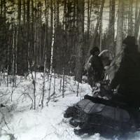 Экспедиция А.А.Макаренко на пути из Кежмы в Панолик