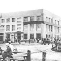 Промбанк (Мэрия). Новосибирск. Красный проспект, 34. Фотография конца 1920-х гг.