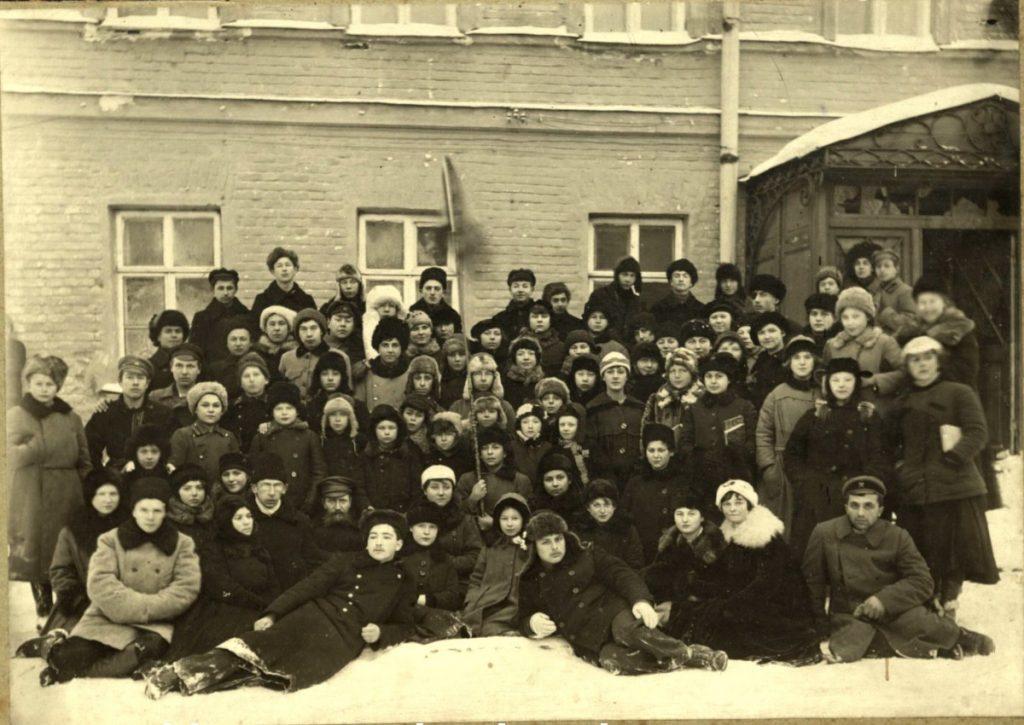 Скауты нижегородской дружины «Арго», 1922 год, ЦАНО. Ф. P-6127. Оп. 2. Д. 6. л. 1